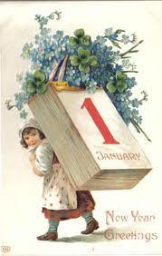 Newyear calendar girl