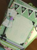 Chipboard Mini Albums - chic banner pg