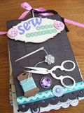 Chipboard Mini Albums - front cover