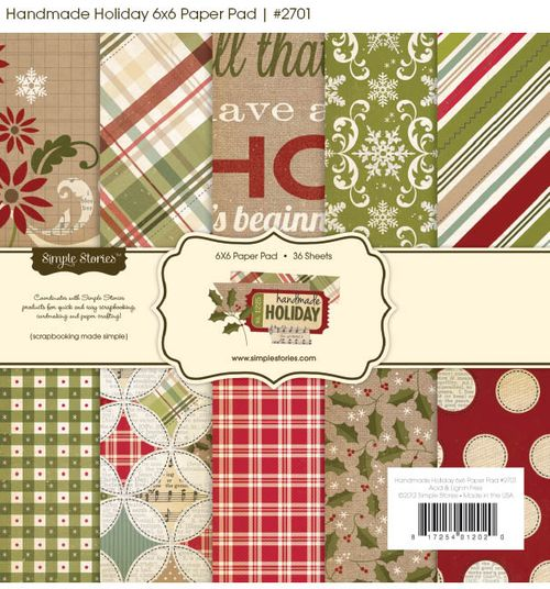 Chipboard mini albums - simple stories - handmade holiday1