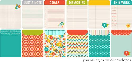 Chipboard mini albums - Pebbles - Seen & Noted2