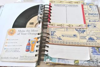 Chipboard mini albums - Zutter crazy mixed up mini 2
