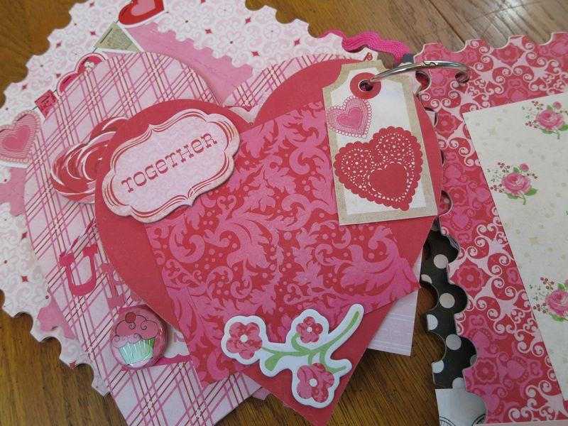 Sweet Valentine album kit pics 012