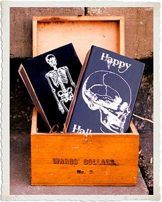 Chipboard mini albums - graphicsfairy - Halloween matchbox covers