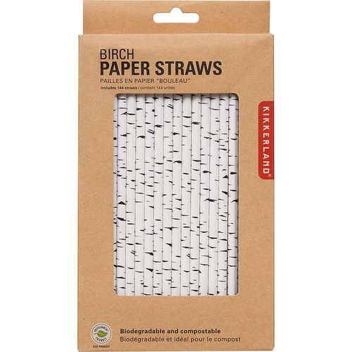 Chipboard mini albums - Paper Sourcebirch paper straws