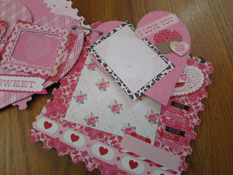 Sweet Valentine album kit pics 009