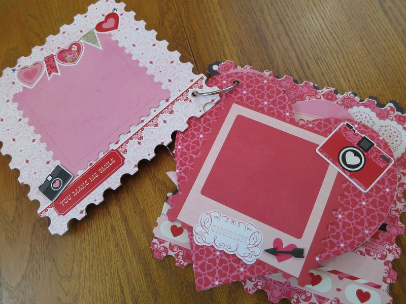 Sweet Valentine album kit pics 007