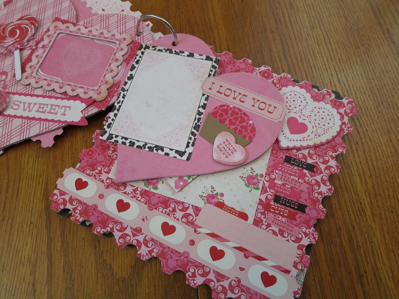 Sweet Valentine album kit pics 010