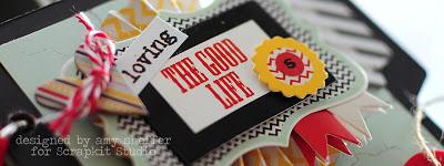 Amy Sheffer the good life album title closeup