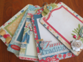 Chipboard Mini Albums - Family Traditions pg spread 1