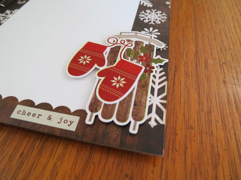 Home for the Holidays album pg8 closeup