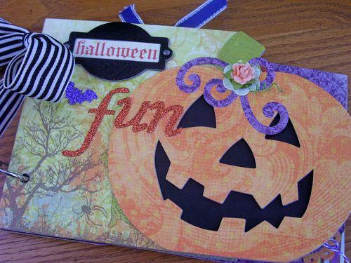 Chipboard Mini Albums - Halloween Fun Kit Cover